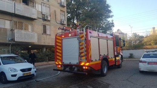 إصابة امرأة وأطفالها الثلاثة إثر حريق بالنقب