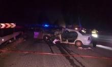 عرب الشبلي: إصابة حرجة وأخرى متوسطة في حادث طرق