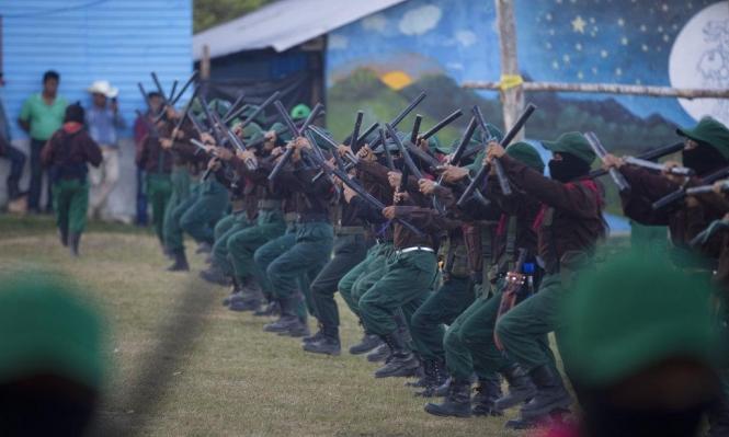 """حركة """"زاباتيستا"""" التحررية تتعهد بمواجهة رئيس المكسيك الجديد"""