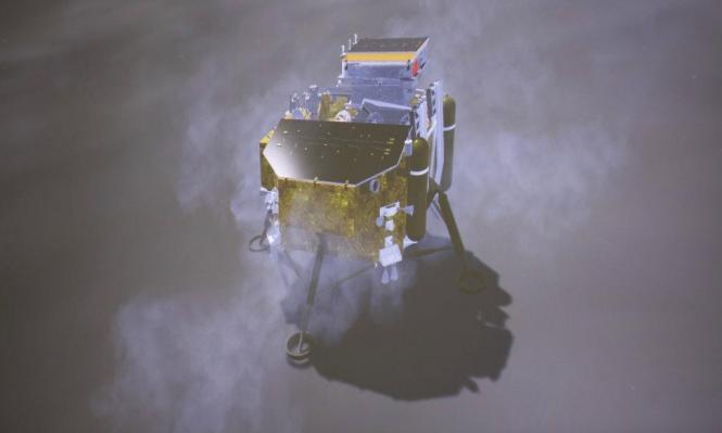 مسبار صيني يهبط على الجانب المظلم من القمر بإنجاز تاريخيّ!