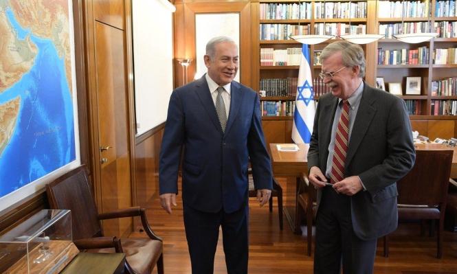 بولتون يبحث في إسرائيل قاعدة التنف والنشاط الصيني في حيفا