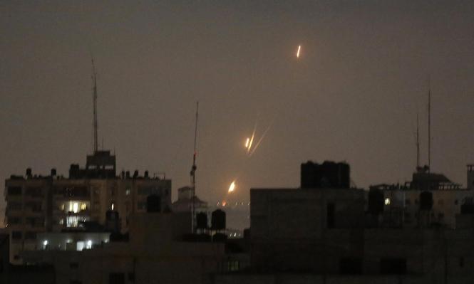 قذيفة من قطاع غزة نحو عسقلان الليلة الماضية
