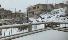 حالة الطقس: منخفض جوي شديد البرودة مصحوب بأمطار وثلوج