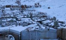 """عاصفة """"نورما"""" تشل مناطق بلبنان.. واللاجئون الأكثر تضررا"""