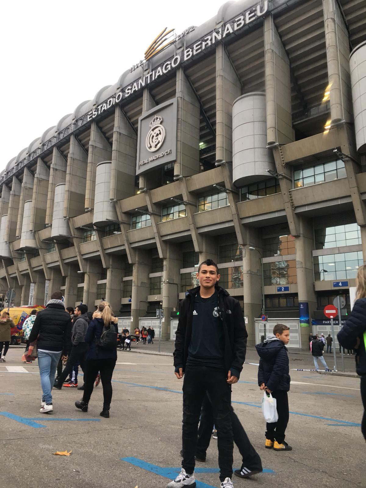 حلم يتحقق: أمين محاميد يشق طريقه الاحترافية في مدريد