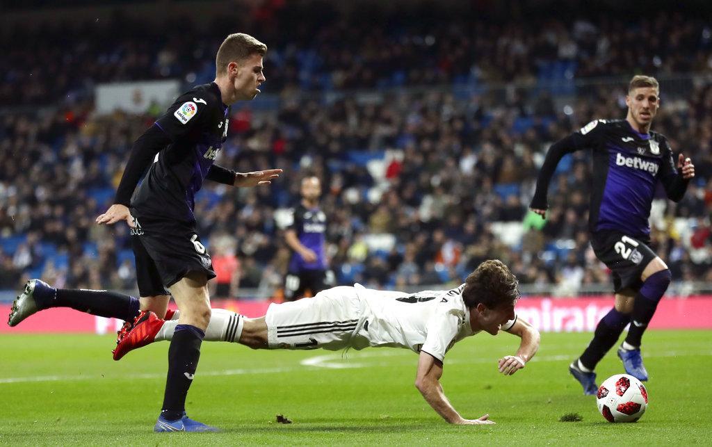 كأس الملك: ريال مدريد يسحق ليغانيس بثلاثية نظيفة