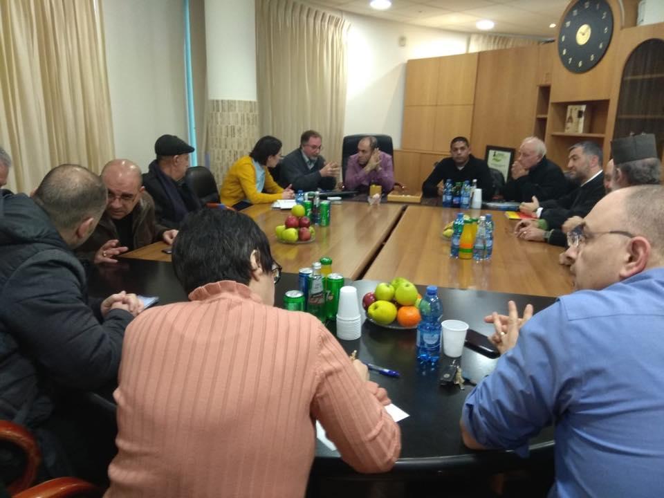 ترشيحا: بحث قضية أراضي الأوقاف المسيحية