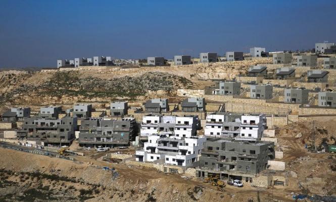 مخطط استيطاني للاستيلاء على 139 دونما شرق رام الله