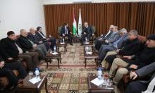الوفد الأمني المصري يغادر غزة إلى رام الله