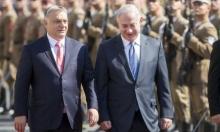 """نتنياهو يجمع """"فيشيغراد"""" لمواجهة قرارات أوروبية"""