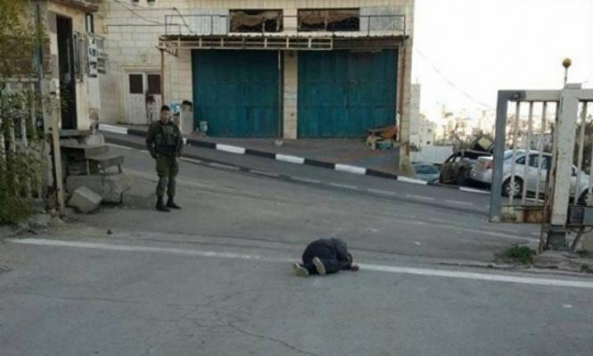إصابة شاب برصاص الاحتلال قرب الخليل