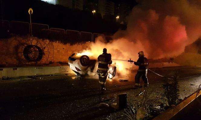 بيت جن: مصرع شابين في حادث طرق قرب حيفا