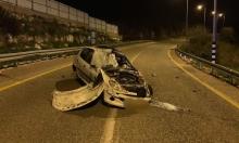 كسرى: مصرع سعيد أسعد في حادث انقلاب سيارة