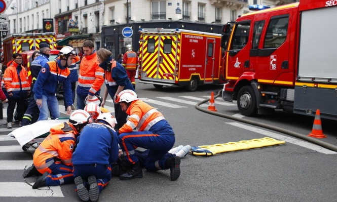 باريس: قتيلان و10 مصابين بحالة حرجة جراء انفجار