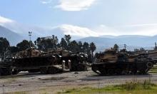 تعزيزات عسكرية تركية على حدود إدلب