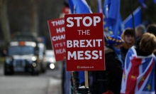 """ماي تحذر من """"كارثة"""" بحال رفض البرلمان البريطاني الـ""""بريكست"""""""