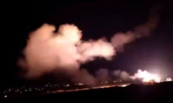 نتنياهو: قصفنا 6 مستودعات أسلحة إيرانية بدمشق
