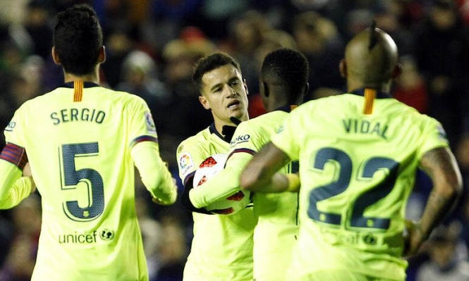 نجم برشلونة يضع شرطا مقابل الرحيل