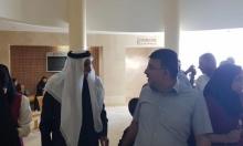 النائب جبارين يلتقى الشيخ الطوري في سجن الرملة