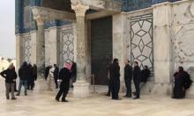 استمرار اقتحامات الأقصى: أوقاف القدس تغلق قبة الصخرة