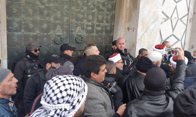 دائرة الأوقاف تستنكر اعتقال الاحتلال دائرة الأوقاف تستنكر اعتقال الاحتلال