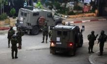 مداهمات واعتقالات بالضفة وتوغل عسكري بغزة