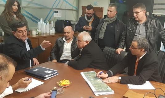 ميزانيات وخطط لحل أزمة شارع كفر كنا والمشهد والرينة