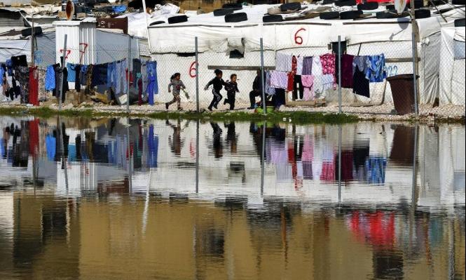 الشتاءُ قاسٍ على اللاجئين السوريّين في لبنان...