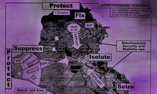 جيني هولزر في العراق: بصريّة النصّ أوّلًا