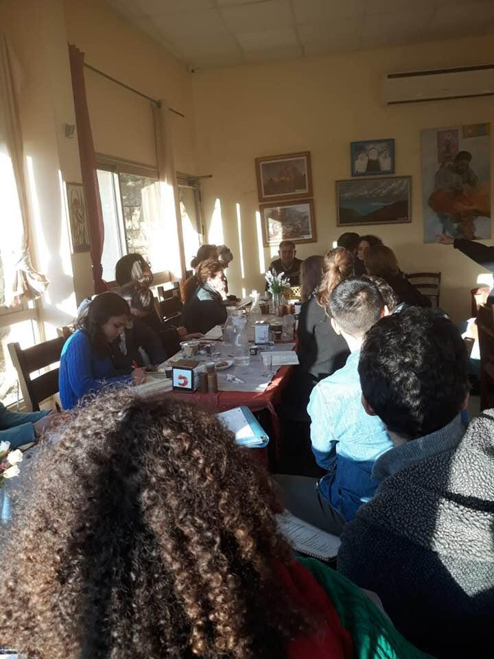 جمعية الدفاع عن حقوق المهجرين تلتقي طلابا من جامعة هارفارد