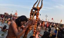 """""""كومبه ميلا"""": مهرجان هندوسي لاستحمام النساك بالأنهار المقدسة"""
