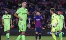 برشلونة مهدد بالإقصاء من كأس ملك إسبانيا
