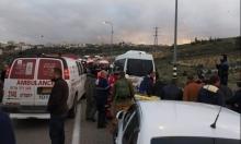 مصرع فلسطينيّ وإصابة 11 بحادث سير قرب الخليل