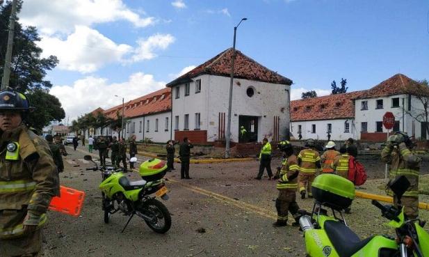 كولومبيا: 21 قتيلا و 68 جريحا في تفجير مفخخة في بوغوتا