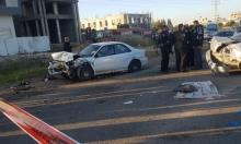 شارع 444: خمس إصابات إحداها خطيرة في حادث طرق
