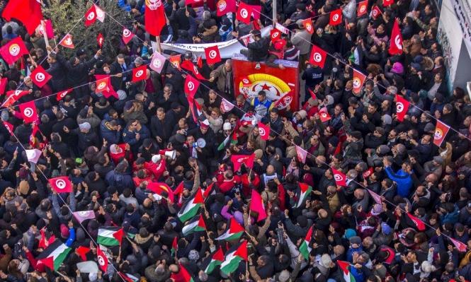 تونس: دعوة لإضراب عام ليومين الشهر المقبل