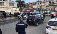 إصابة 3 أفراد شرطة وسائقة دهسا في أم الفحم