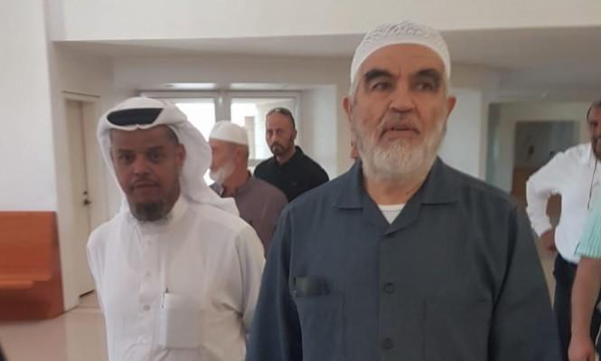 الأربعاء: الشيخ رائد صلاح يدلي بشهادته ردا على لائحة الاتهام