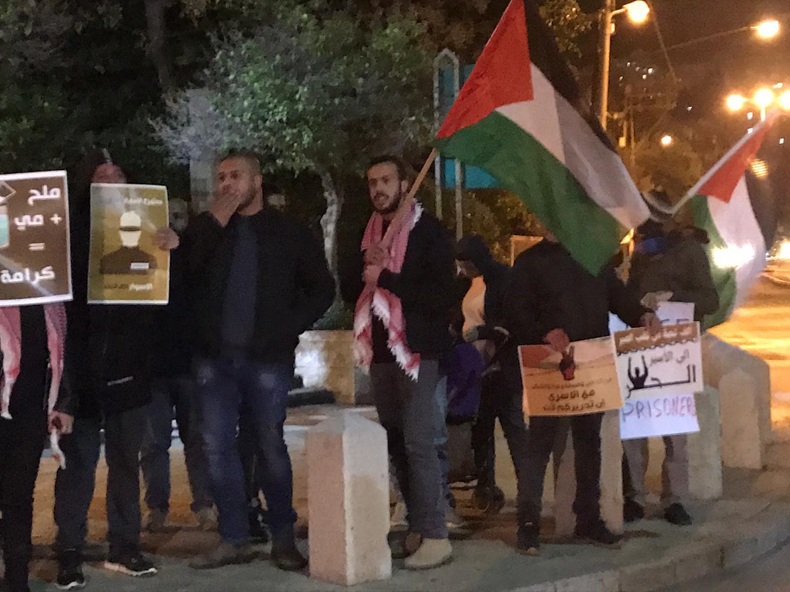 حيفا: اعتقال شابين في قمع الشرطة لتظاهرة نصرة للحركة الأسيرة