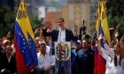فنزويلا: زعيم المعارضة يعلن نفسه