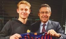 رسميا: برشلونة يبرم صفقة هولندية من أياكس