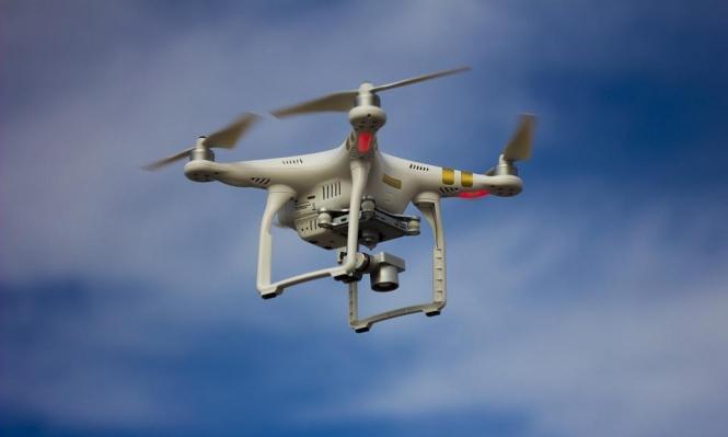 كاميرات طائرة مجهولة تصور قاعدة لسلاح الجو الإسرائيلي