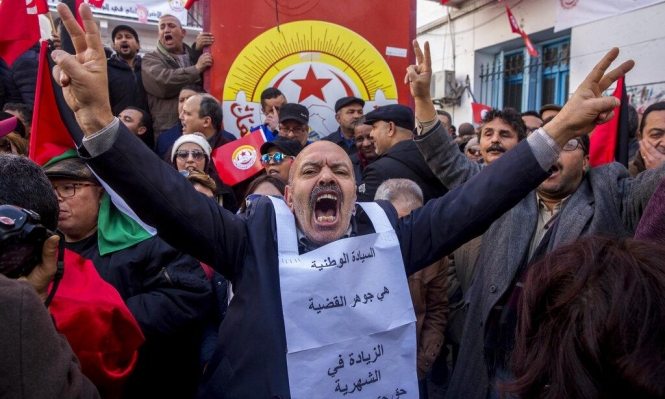 """مدرسو تونس يصعدون إلى """"يوم غضب"""" للمطالبة برفع الأجور"""