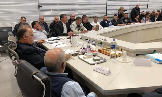 بلدية الناصرة تعقد أولى جلساتها وتنتخب نواب الرئيس