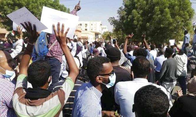 """السودان: تفريق مظاهرة بالقوة ودعوات لمشاركة واسعة بـ""""موكب التنحي"""""""