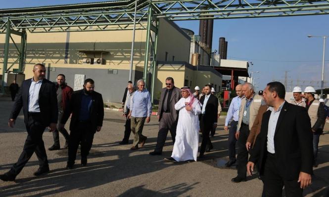 العمادي يدخل غزة وتضارب حول تحويل المنحة القطرية
