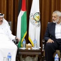 العمادي يدخل غزة بدون أموال المنحة القطرية