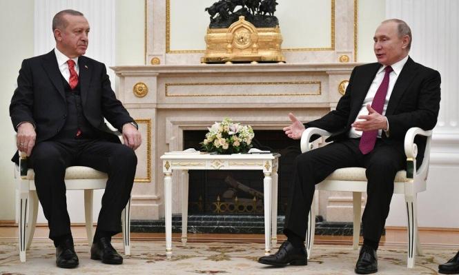 بوتين وأردوغان يناقشان الوضع في إدلب