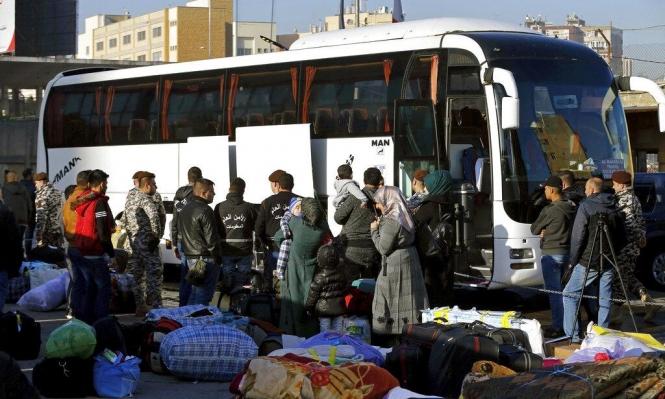 عودة مئات اللاجئين السوريين إلى بلادهم من لبنان
