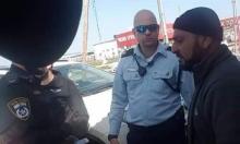 ترهيب الشرطة: اعتقال ناشط قبيل التظاهرة ضد الهدم في قلنسوة
